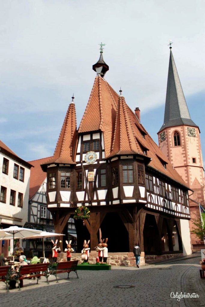 2017 in 60 Pictures: Michelstadt Rathaus, Hesse, Germany - California Globetrotter