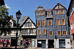 Idstein, Hesse, Germany - Schiefeshaus - California Globetrotter