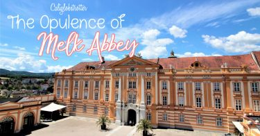 The Opulence of Melk Abbey, Melk, Austria - Austria's Most Impressive Abbey - Baroque Abbey - day Trips in Austria - Top Places to Visit in Austria - Top Sights to See in Austria - Top-Rated Tourist Attractions in Austria - Places to Visit in Austria - California Globetrotter