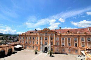 2 Week Balkan Road Trip: Melk Abbey, Austria - California Globetrotter