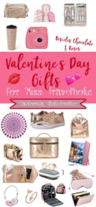 Valentine's Day Gifts for Miss Travelholic - Travel Gifts for Valentine's Day - Valentine's Day Gifts for Her - Valentine's Day Gifts beside chocolate & roses - Travel accessories - travel gifts - Rose Gold Gifts - Rose Gold Travel Gifts - California Globetrotter
