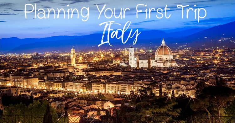 Planning Your First Trip to Italy - Tips for Your First Trip to Italy - Italy Travel Tips - Things You Should Know for Your Trip to Italy - Best Way to See Italy for the First Time - Sara - Journey of Doing - California Globetrotter