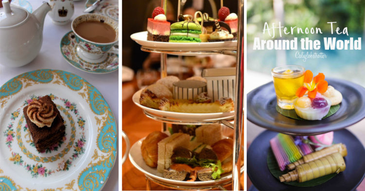 Where to Take Afternoon Tea Around the World! | Afternoon Tea | High Tea Around the World | The Best Afternoon Teas | Luxurious Afternoon Teas | Themed Afternoon Tea in London | History of Afternoon Tea | Tea & Scones | Cream Tea | Tea in Africa | Tea in Bali | Tea in Edinburgh | Tea in London - California Globetrotter