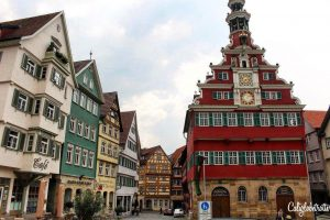 STUNNING City Halls in Germany | Atemberaubende Rathäuser in Deutschland | Town Halls in Germany | Top City Halls in Germany | Beautiful Town Halls in Germany | Esslingen am Necker City Hall | Esslingen City Hall | Altes Rathaus Esslingen - California Globetrotter
