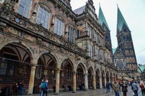 STUNNING City Halls in Germany | Atemberaubende Rathäuser in Deutschland | Town Halls in Germany | Top City Halls in Germany | Beautiful Town Halls in Germany | Bremen City Hall | Bremer Rathaus by Travel, Breathe, Repeat - California Globetrotter