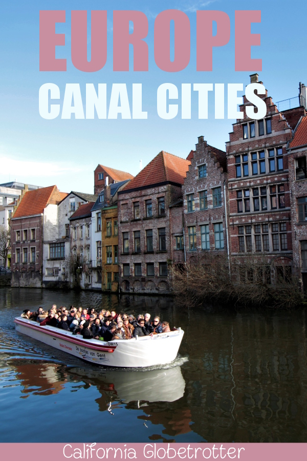 Alluring Canal Cities in Europe