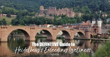 The DEFINITIVE Guide to Heidelberg, Germany | Heidelberg Itinerary | Events & Festivals in Heidelberg | Where to Eat in Heidelberg | Best Hotels in Heidelberg | Top Destination in Germany | Romantic Heidelberg | What to do in Heidelberg | Main Sights in Heidelberg | Neckar Activities | #Heidelberg #Germany #TravelGermany #VisitGermany - California Globetrotter
