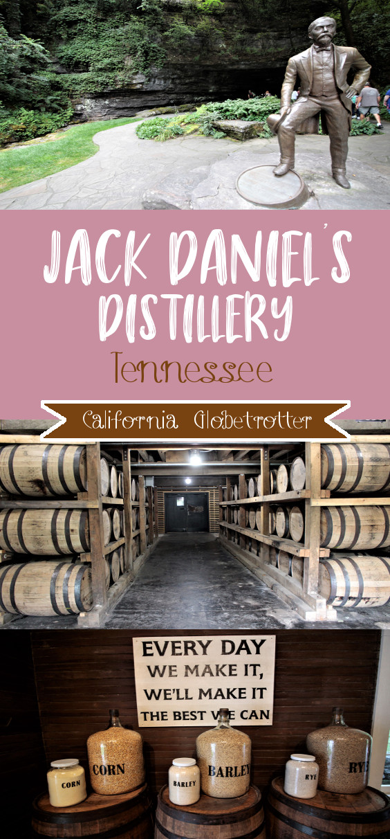 Jack Daniel's Distillery, Lynchburg, Tennessee | Jack Daniel's History | Day Trip from Nashville | Things to do in Tennessee | Small Town USA | Whiskey vs Bourbon | Tennessee Whiskey Trail | Miss Mary Bobo's Boarding House | #Whiskey #JackDaniels #Lynchburg #Tennessee - California Globetrotter