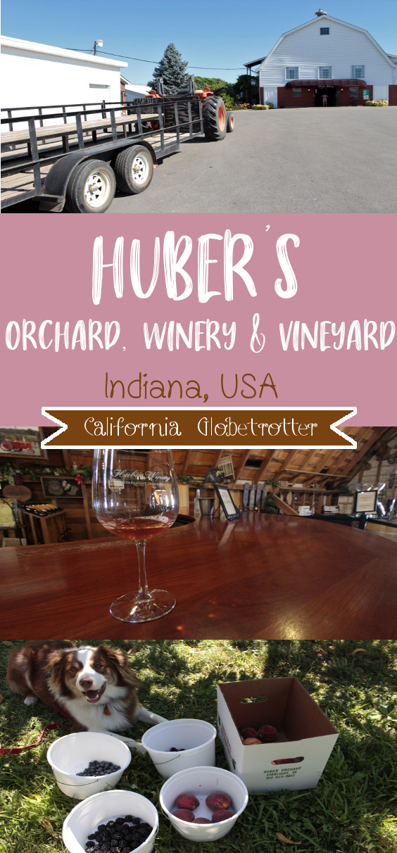 Huber's Orchard, Winery & Vineyard, Starling, Indiana | Kentuckiana Day Trips | Indiana Top Things to Do | Day Trip from Louisville | Indiana Uplands Wine Trail | Wineries in Indiana | U-Pick Adventures | Family Farm Park | Country Farms in Indiana | #HubersOrchard #Indiana #TravelUSA - California Globetrotter