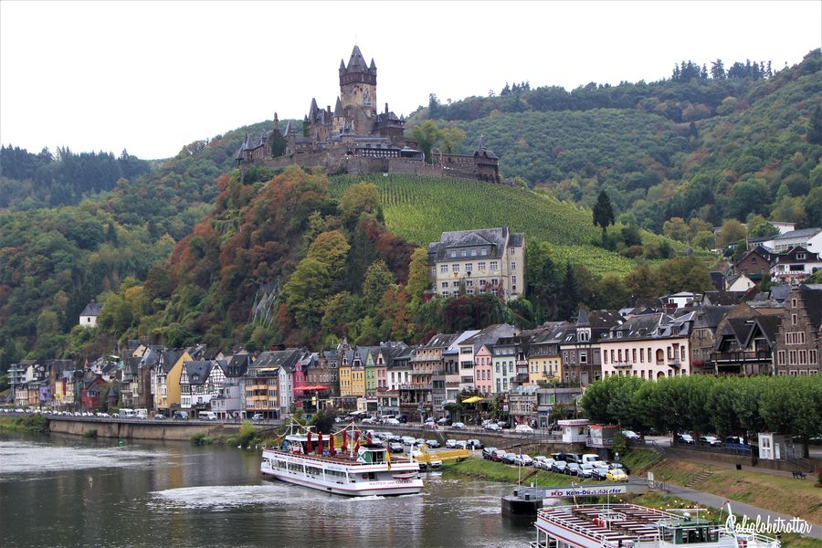"Cochem, Mosel Valley | 10+Places to Visit in Southern Germany in Autumn | Autumn in Germany | Fall in Germany | Germany's ""Golden October"" Altweibersommer 