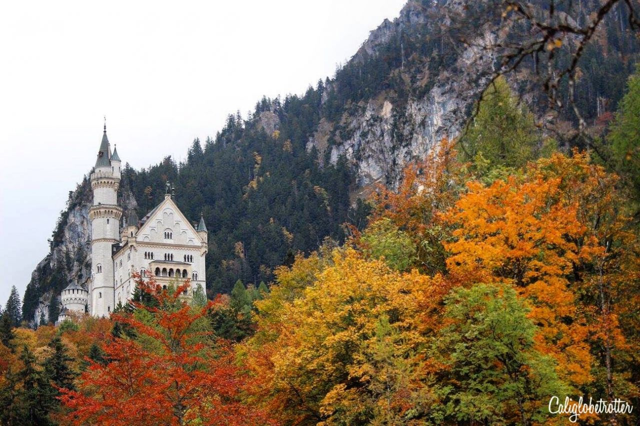 "Schloss Hohenschwangau | 10+Places to Visit in Southern Germany in Autumn | Autumn in Germany | Fall in Germany | Germany's ""Golden October"" Altweibersommer 