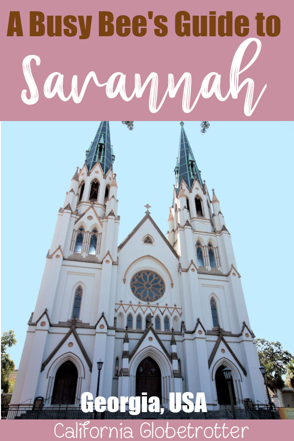 Cathedral of St. John the Baptist | A Busy Bee's Guide to Savannah, Georgia | Things to do in Savannah | 24 hours in Savannah | Savannah City Guide | Savannah Itinerary | Getting Around Savannah | Where to Eat in Savannah | Savannah Historic District | Downtown Savannah | #Savannah #Georgia #TravelUSA - California Globetrotter