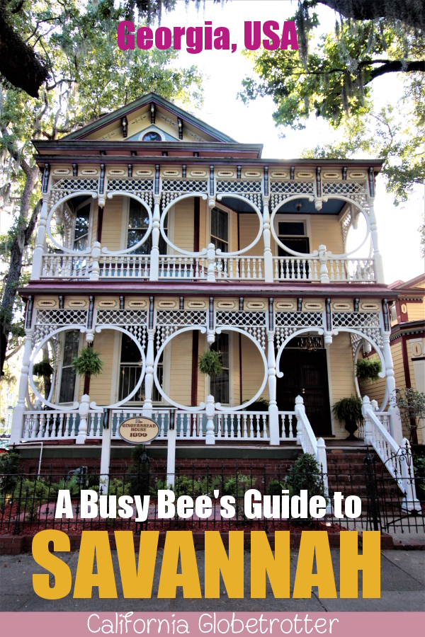 Gingerbread House | A Busy Bee's Guide to Savannah, Georgia | Things to do in Savannah | 24 hours in Savannah | Savannah City Guide | Savannah Itinerary | Getting Around Savannah | Where to Eat in Savannah | Savannah Historic District | Downtown Savannah | #Savannah #Georgia #TravelUSA - California Globetrotter