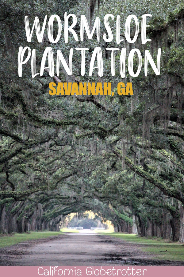 Wormsloe Plantation | Wormsloe Historic Site | A Busy Bee's Guide to Savannah, Georgia | Things to do in Savannah | 24 hours in Savannah | Savannah City Guide | Savannah Itinerary | Getting Around Savannah | Where to Eat in Savannah | Savannah Historic District | Downtown Savannah | #Savannah #Georgia #TravelUSA - California Globetrotter