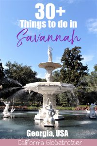 Forsyth Park | A Busy Bee's Guide to Savannah, Georgia | Things to do in Savannah | 24 hours in Savannah | Savannah City Guide | Savannah Itinerary | Getting Around Savannah | Where to Eat in Savannah | Savannah Historic District | Downtown Savannah | #Savannah #Georgia #TravelUSA - California Globetrotter