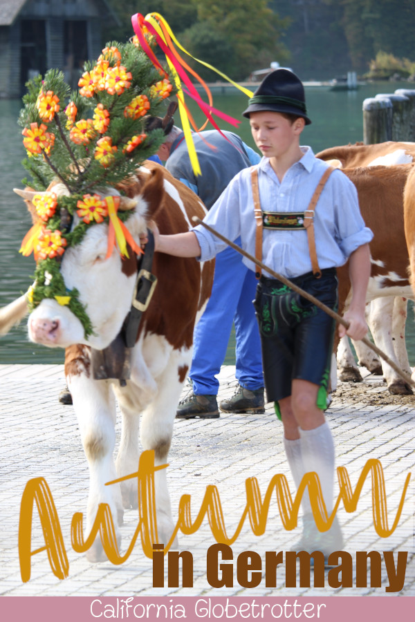 """10+Places to Visit in Southern Germany in Autumn 