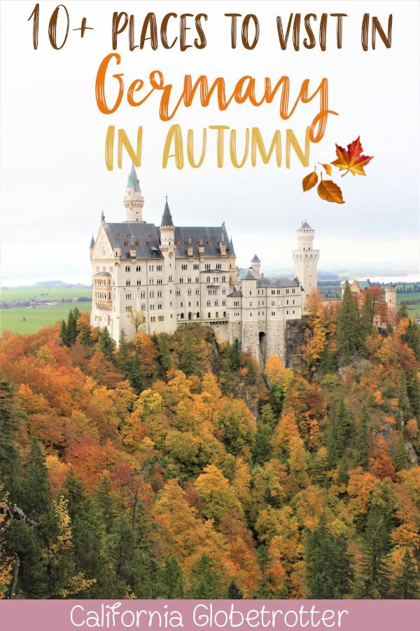 "10+Places to Visit in Southern Germany in Autumn | Autumn in Germany | Fall in Germany | Germany's ""Golden October"" Altweibersommer 