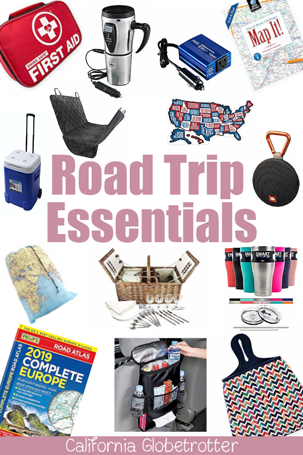 Road Trip Essentials | What You Need for a Road Trip | Road Trip Gift Ideas | Gift Ideas for Travelers | Travel Gifts | Travel Stocking Stuffers | Road Trip Necessities | Road Trip Gear | Pete Travel Gear | Eco-friendly Travel Gear | Road Trip Must-Haves | #RoadTrip #RoadTripping - California Globetrotter