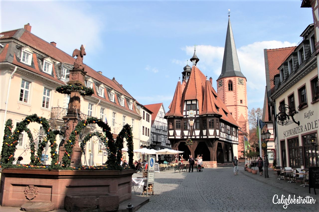 Michelstadt, Germany | Stupid Pretty Towns in Europe | Best European Villages to Visit | Small Towns in Europe | Picturesque European Town | Best Towns to Visit in Germany | Pretty German Towns | Fairy Tale Towns in Europe | European Fairy Tale Villages | Best Old Towns in Europe | Half-timbered Towns in Germany | #Michelstadt #Germany #Europe - California Globetrotter