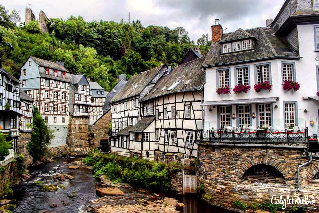 Monschau, Germany | Stupid Pretty Towns in Europe | Best European Villages to Visit | Small Towns in Europe | Picturesque European Town | Best Towns to Visit in Germany | Pretty German Towns | Fairy Tale Towns in Europe | European Fairy Tale Villages | Best Old Towns in Europe | Half-timbered Towns in Germany | #Monschau #Germany #Europe - California Globetrotter