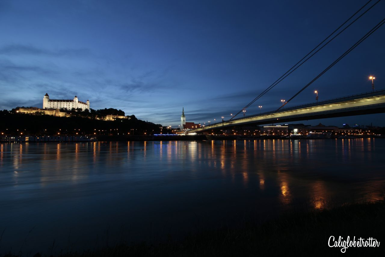 Blue Hour in Bratislava, Slovakia | Tips for Taking Blue Hour Photos While Traveling | How to Take Blue Hour Photos | Equipment for Blue Hour Photos | Camera Equipment for Blue Hour Photos | When is Blue Hour? | What is Blue Hour? | Blue Hour Photography | Travel Photography | Beginner Photographer Tips | Travel Photography Tips | Tips for Taking Photos at Blue Hour - California Globetrotter