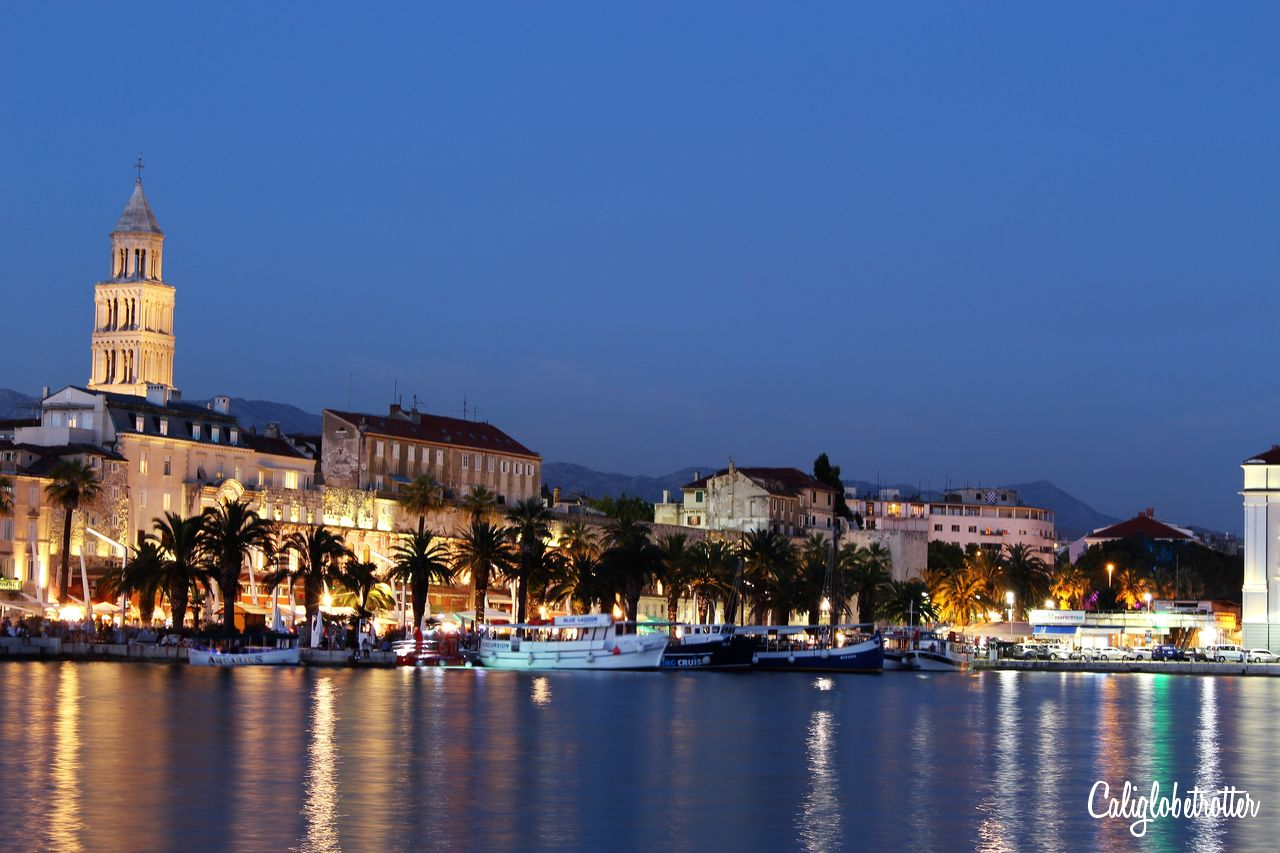 Blue Hour in Split, Croatia | Tips for Taking Blue Hour Photos While Traveling | How to Take Blue Hour Photos | Equipment for Blue Hour Photos | Camera Equipment for Blue Hour Photos | When is Blue Hour? | What is Blue Hour? | Blue Hour Photography | Travel Photography | Beginner Photographer Tips | Travel Photography Tips | Tips for Taking Photos at Blue Hour - California Globetrotter