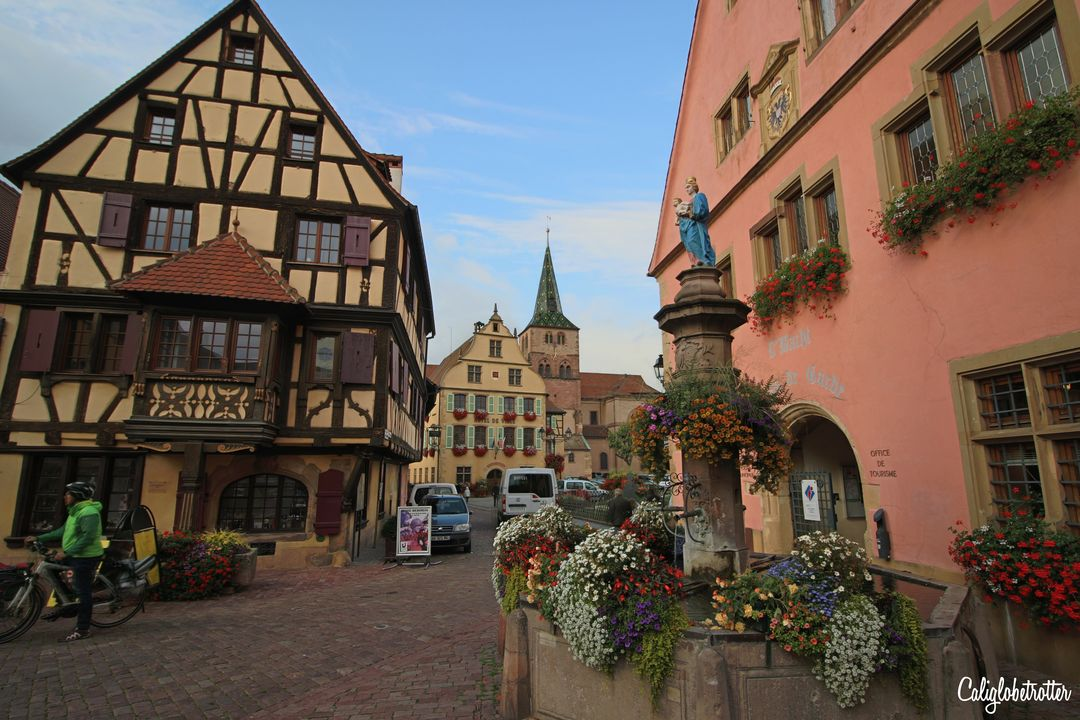 Turckheim | 3 Day Alsace Wine Route Itinerary | 11 fairytale Villages in Alsace | Alsace Fairy Tale Villages | The Best Towns to Visit in Alsace | Best Towns on the Alsace Wine Route | Alsacec Wine Route Villages | Alsace Weekend Itinerary | Alsace Road Trip | French Fairy Tale Towns | Fairy tale Towns in France | Visit France | Visit Alsace | #Alsace #AlsaceWineRoute #France - California Globetrotter