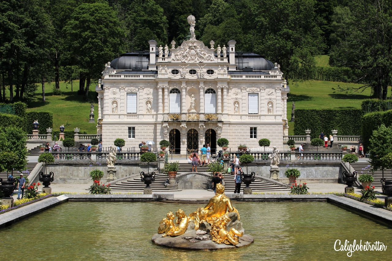 Linderhof Palace, Germany | Fairytale Castles in Europe | The Best European Castles | Castles of Europe | Oldest Castles in Europe | Castles in Germany | Castles in England | Castles in France | Castles in Austria | Castles in Czech Republic | Castles in Romania | Castles in Italy | Castles in Belgium | Difference Between Castle & Palace | Schloss oder Burg? | Best Places to Go in Europe - California Globetrotter