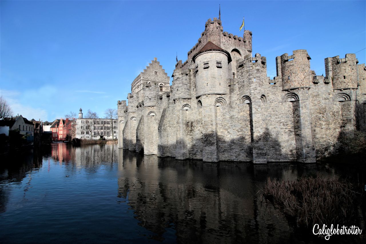 Het Gravensteen, Ghent, Belgium | Fairytale Castles in Europe | The Best European Castles | Castles of Europe | Oldest Castles in Europe | Castles in Germany | Castles in England | Castles in France | Castles in Austria | Castles in Czech Republic | Castles in Romania | Castles in Italy | Castles in Belgium | Difference Between Castle & Palace | Schloss oder Burg? | Best Places to Go in Europe - California Globetrotter